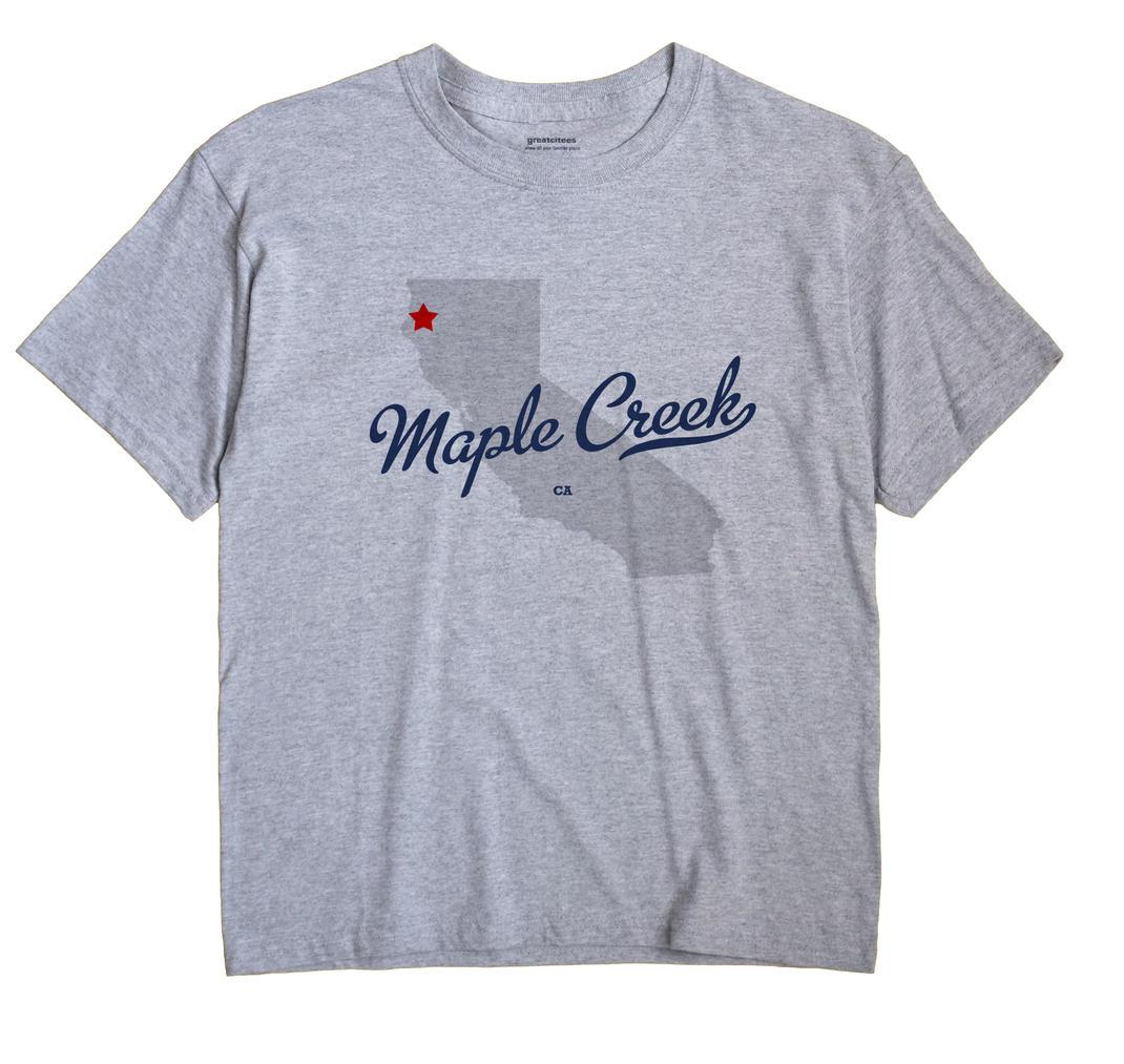 Maple Creek, California CA Souvenir Shirt