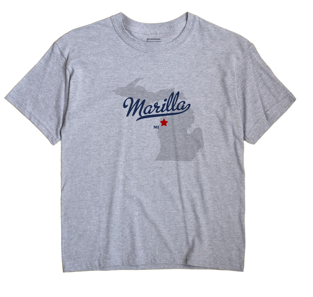 Marilla, Michigan MI Souvenir Shirt