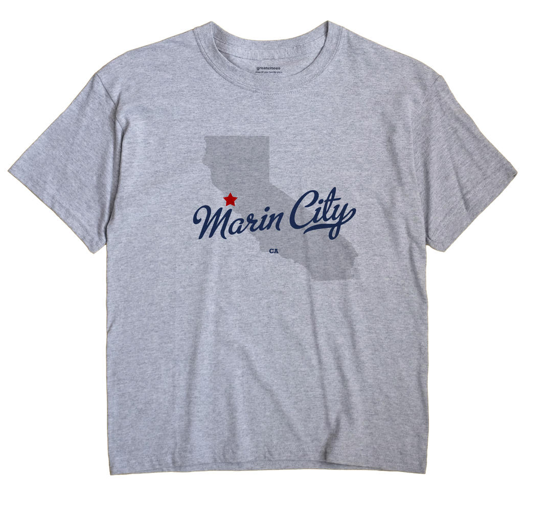 Marin City, California CA Souvenir Shirt