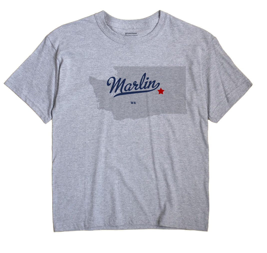 Marlin, Washington WA Souvenir Shirt