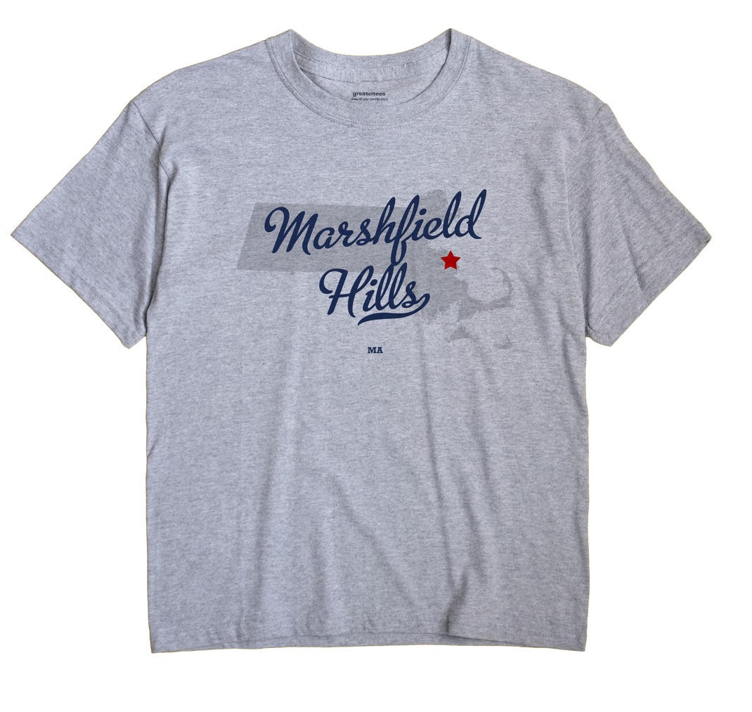 Marshfield Hills, Massachusetts MA Souvenir Shirt