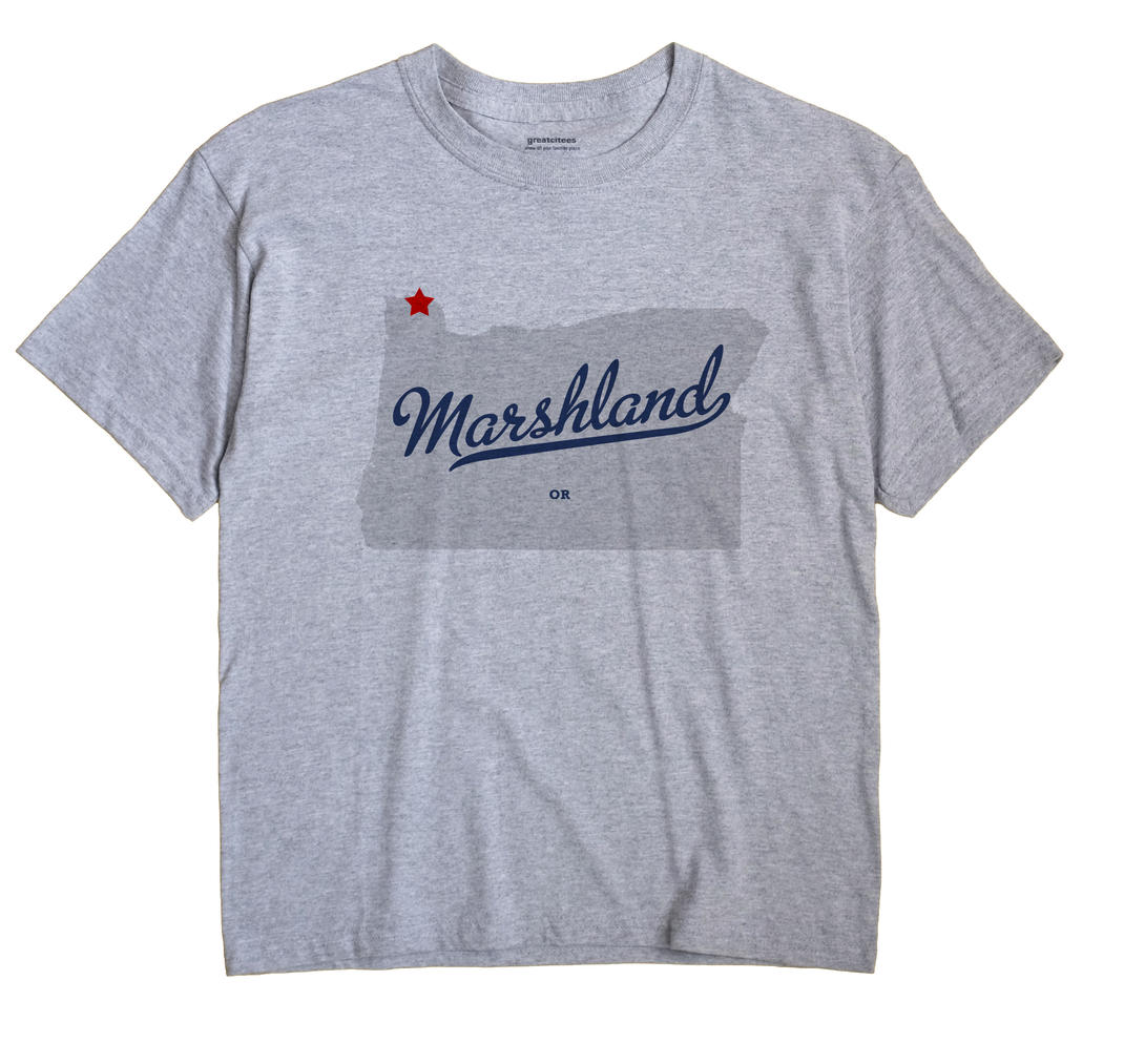 Marshland, Oregon OR Souvenir Shirt