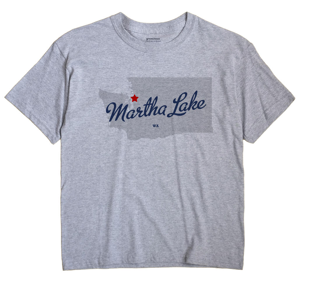 Martha Lake, Washington WA Souvenir Shirt