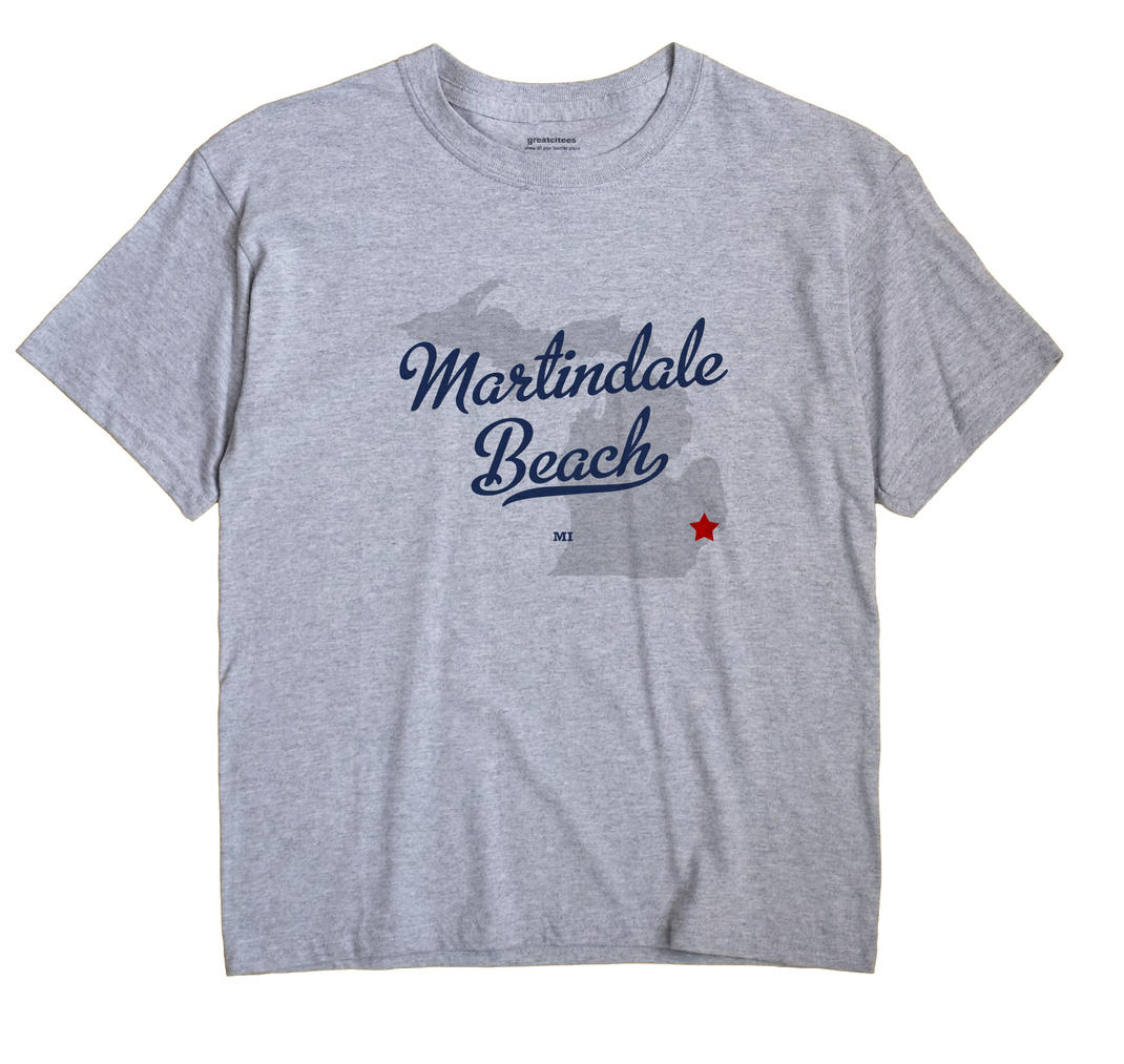 Martindale Beach, Michigan MI Souvenir Shirt