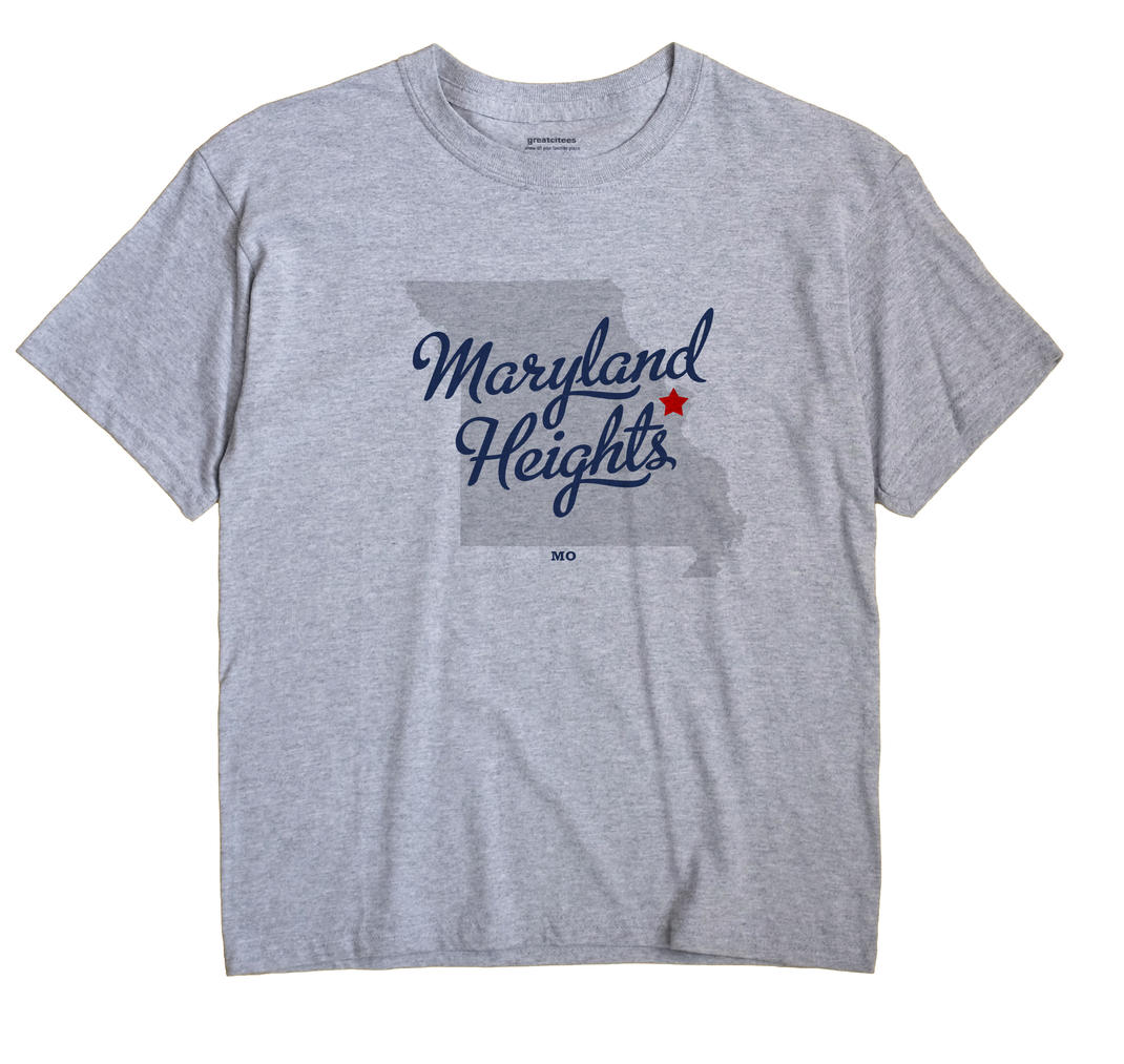 Maryland Heights, Missouri MO Souvenir Shirt