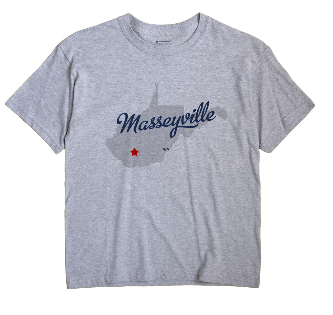 Masseyville, West Virginia WV Souvenir Shirt