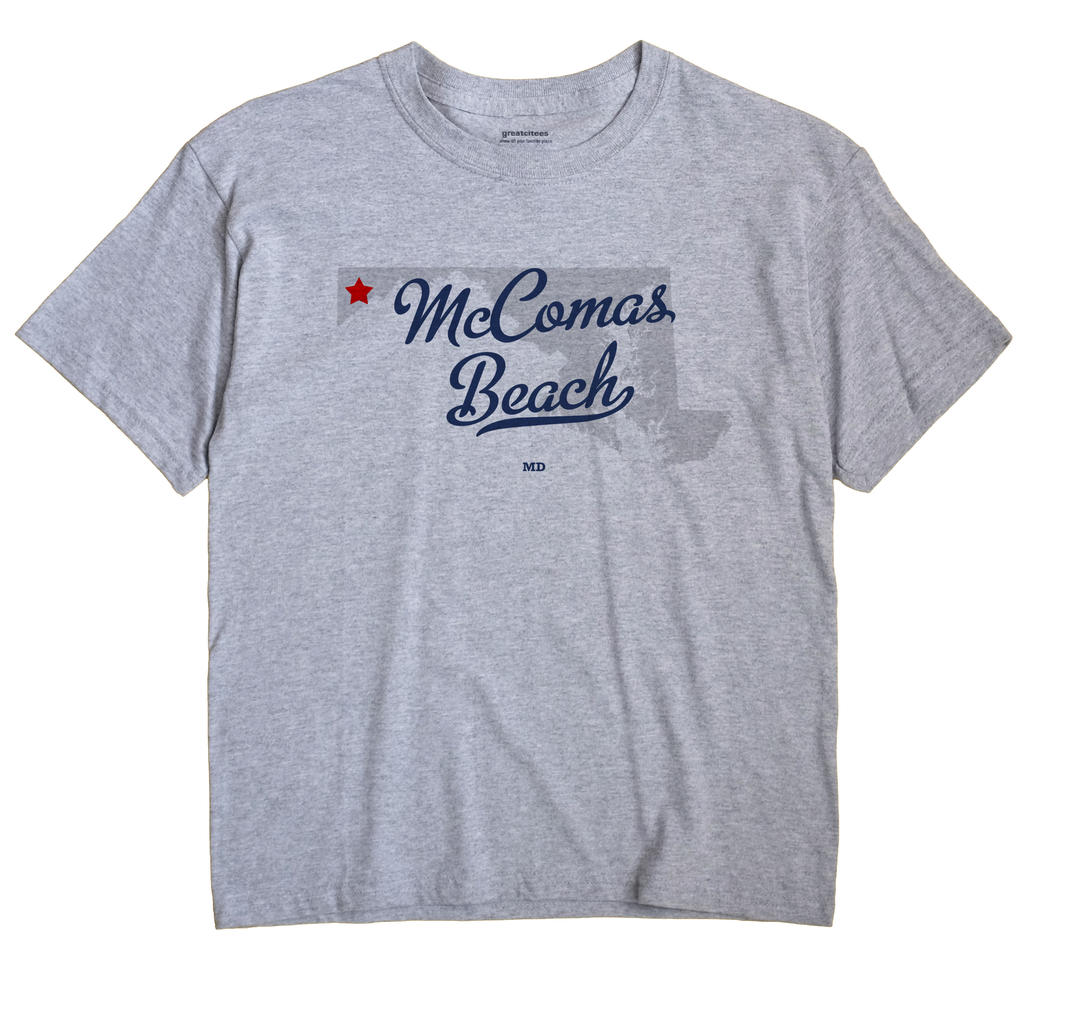 McComas Beach, Maryland MD Souvenir Shirt