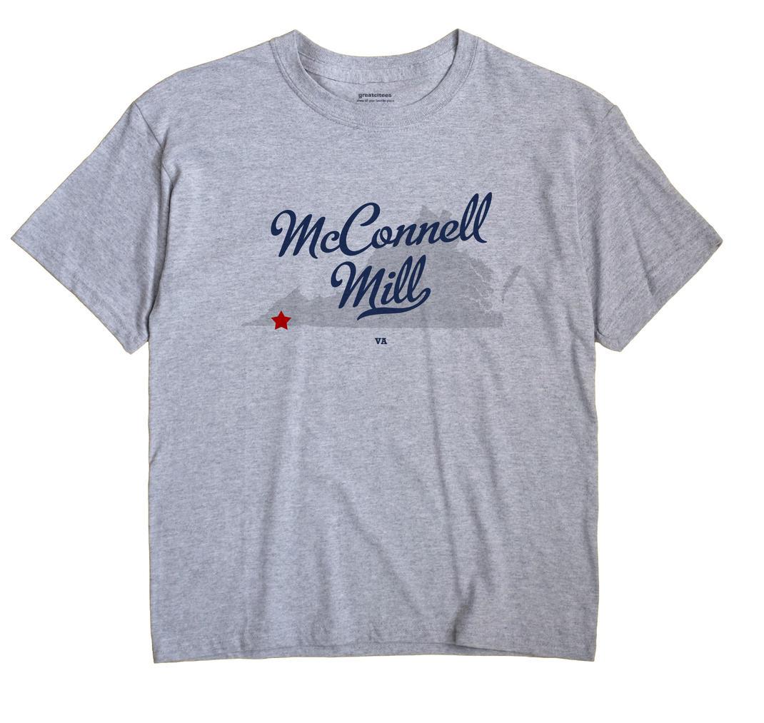 McConnell Mill, Virginia VA Souvenir Shirt
