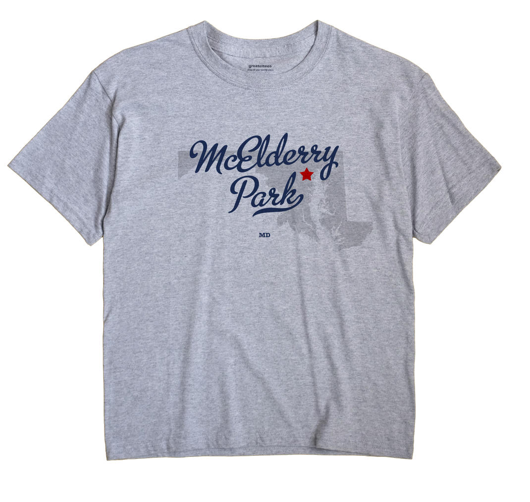 McElderry Park, Maryland MD Souvenir Shirt