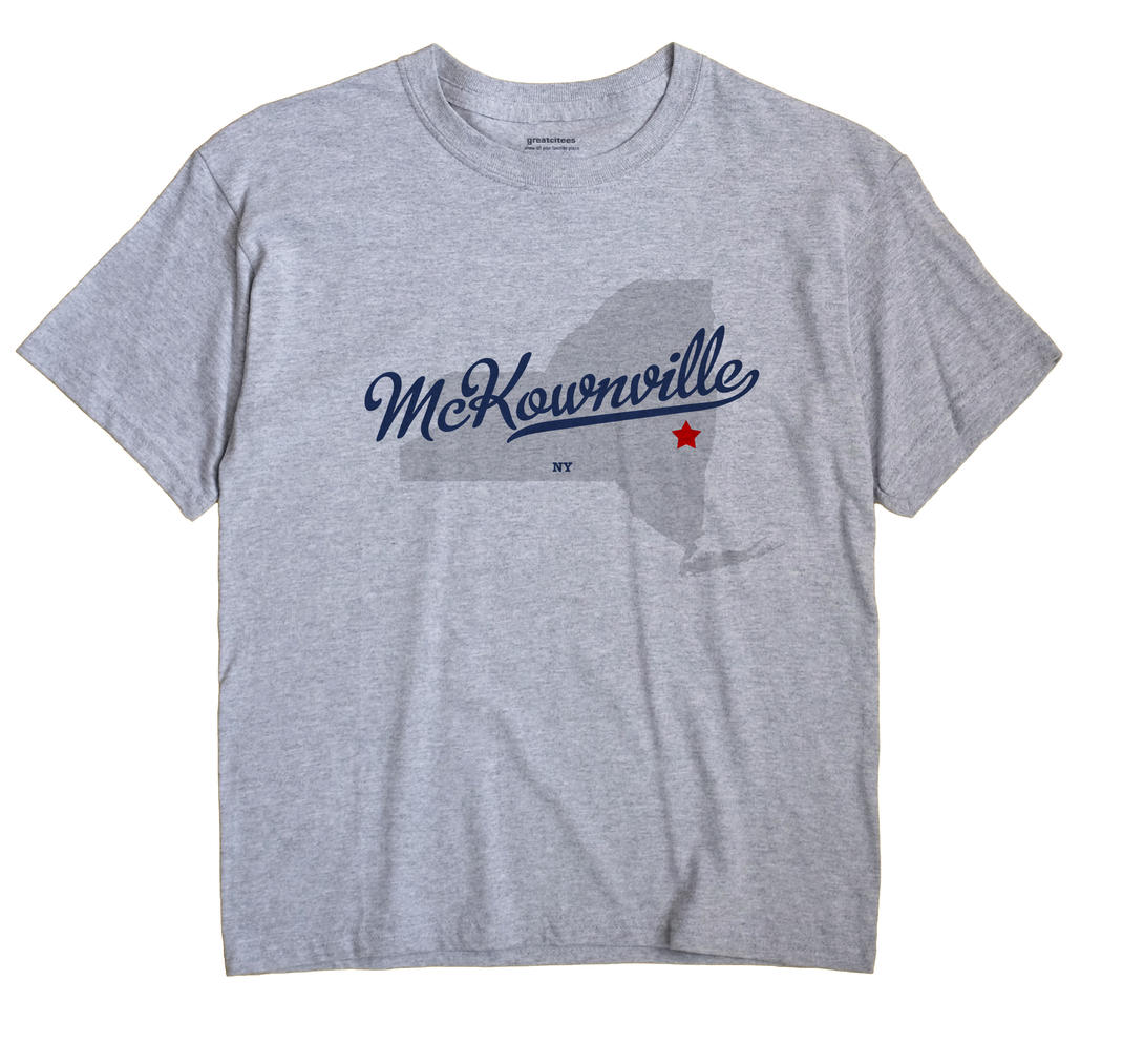 McKownville, New York NY Souvenir Shirt