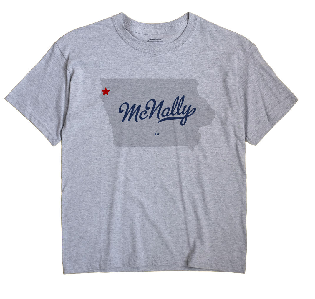 McNally, Iowa IA Souvenir Shirt