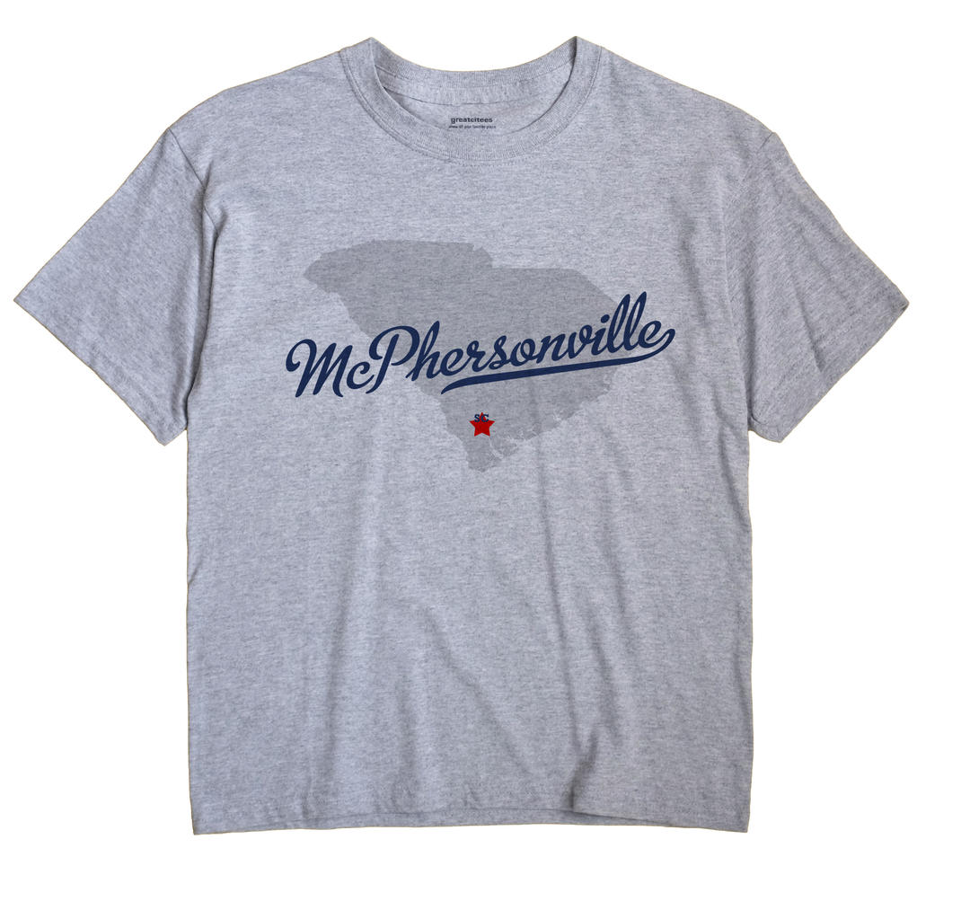 McPhersonville, South Carolina SC Souvenir Shirt