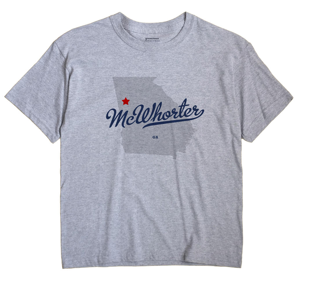 McWhorter, Georgia GA Souvenir Shirt
