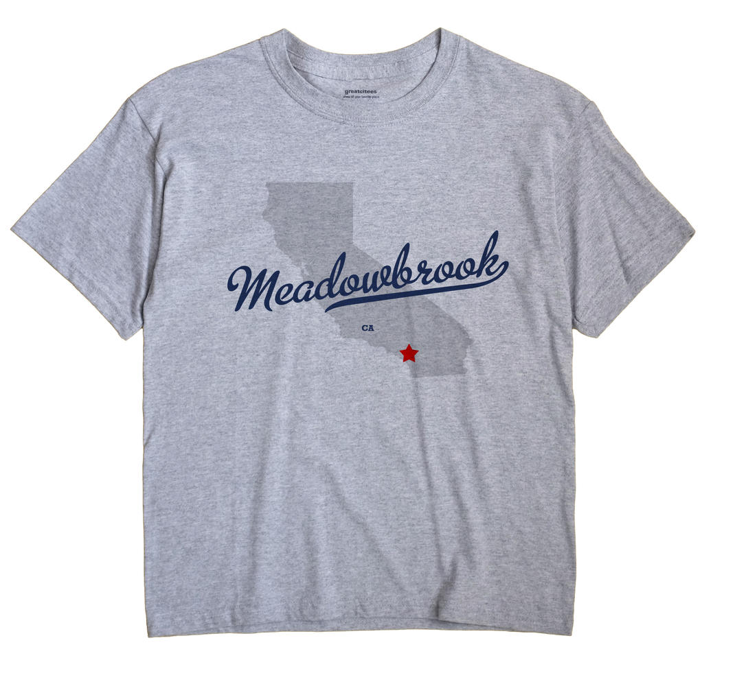 Meadowbrook, California CA Souvenir Shirt