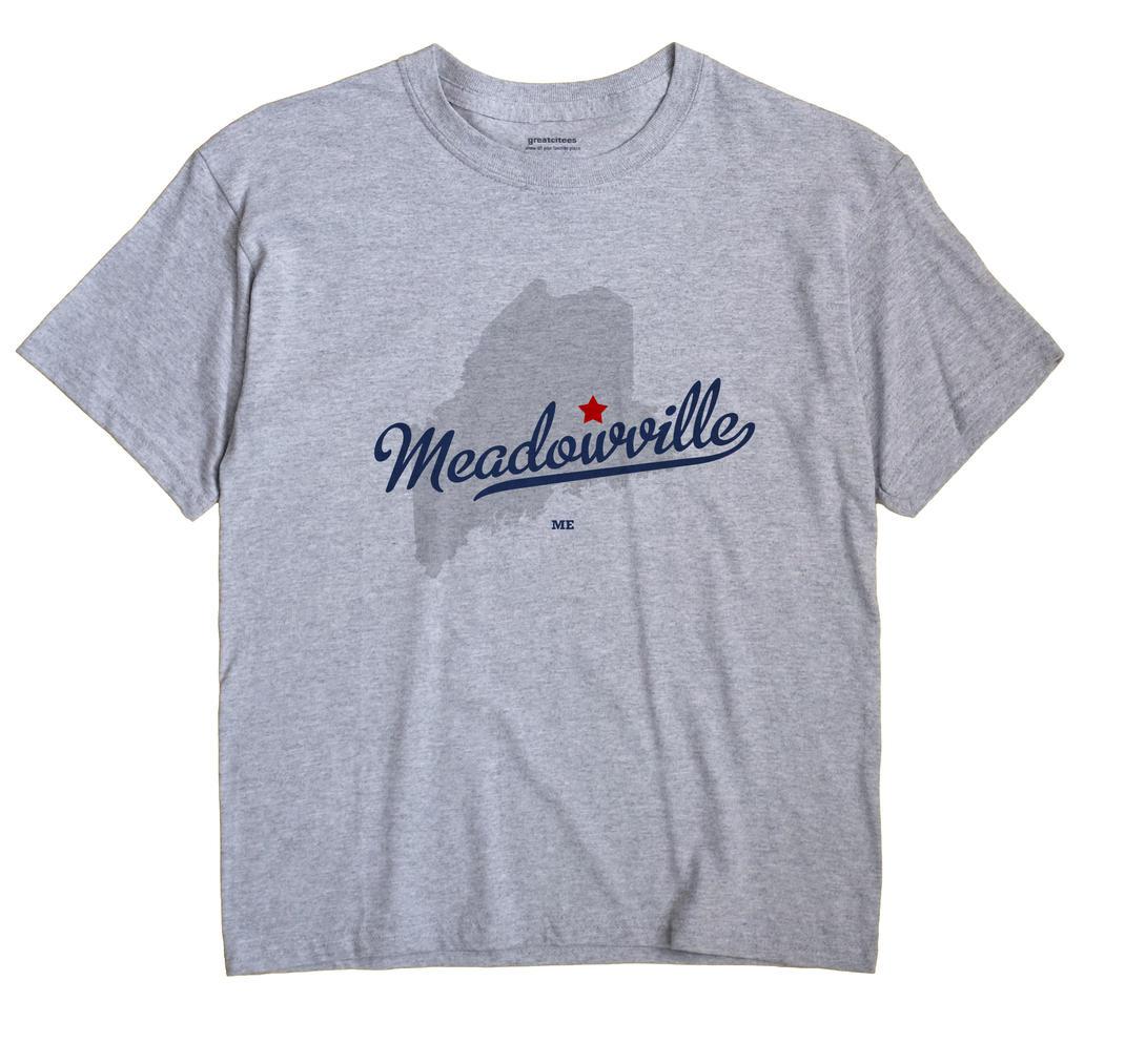 Meadowville, Maine ME Souvenir Shirt
