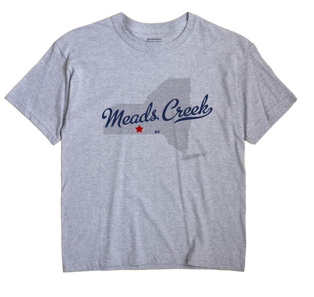 Meads Creek, New York NY Souvenir Shirt