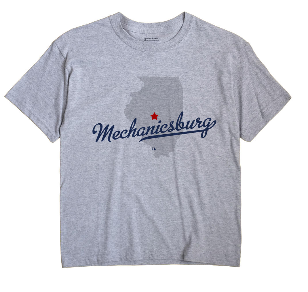 Mechanicsburg, Illinois IL Souvenir Shirt