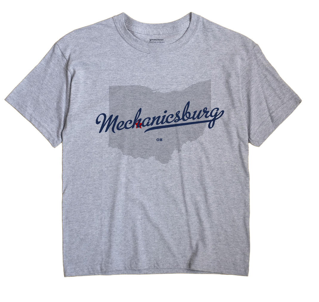 Mechanicsburg, Champaign County, Ohio OH Souvenir Shirt