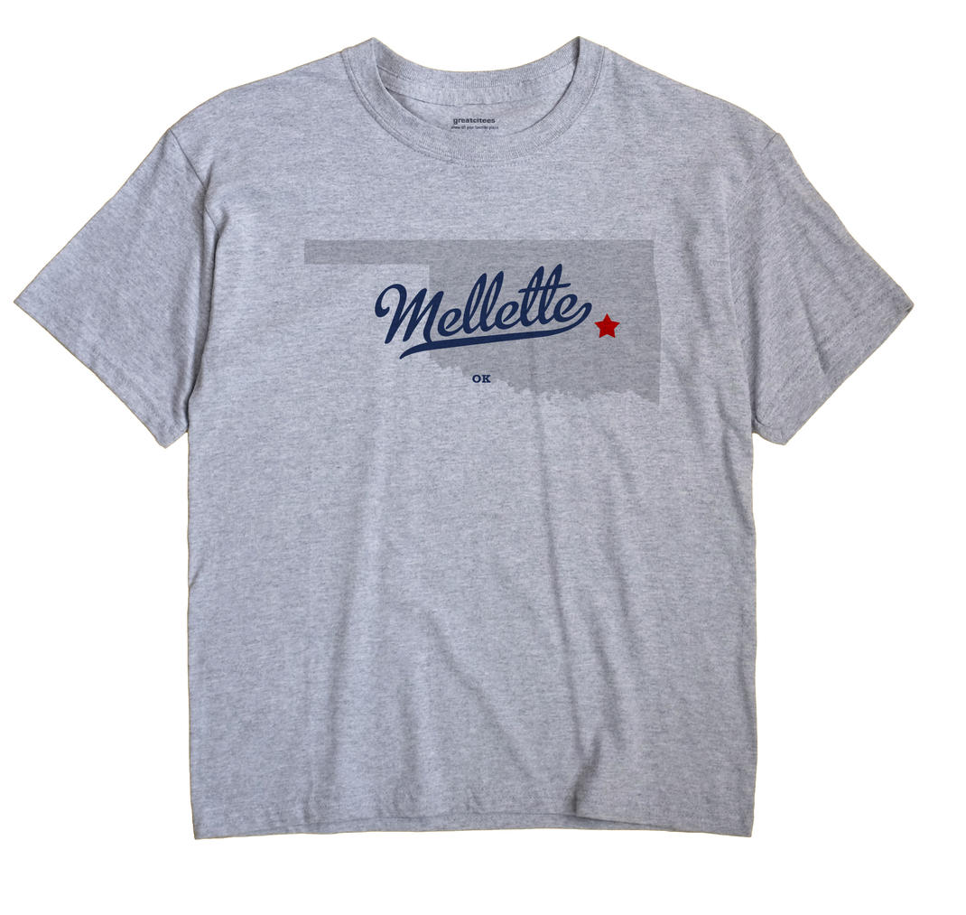Mellette, Oklahoma OK Souvenir Shirt
