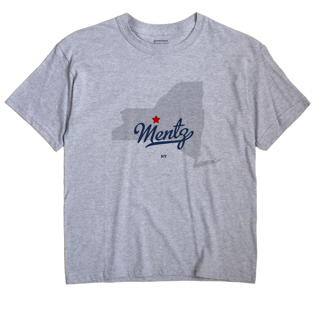 Mentz, New York NY Souvenir Shirt