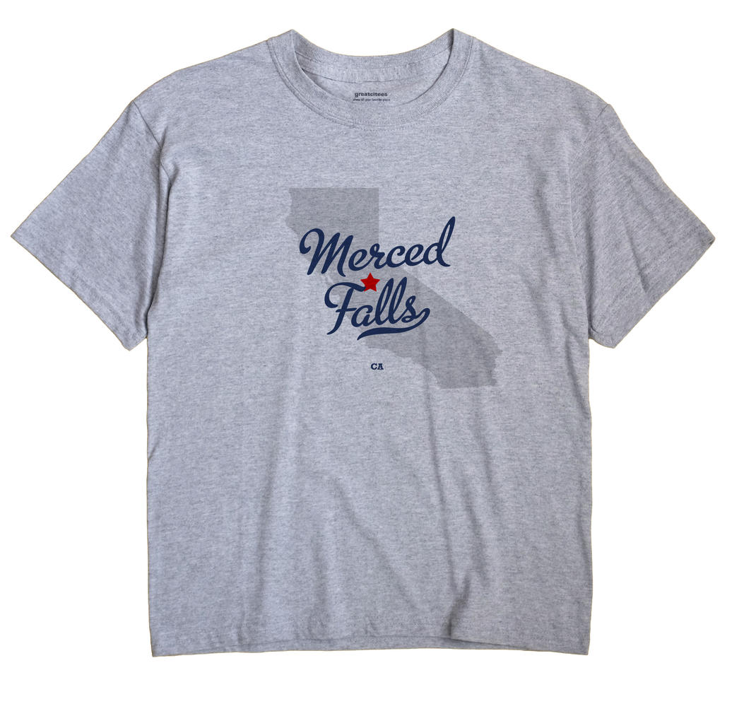 Merced Falls, California CA Souvenir Shirt