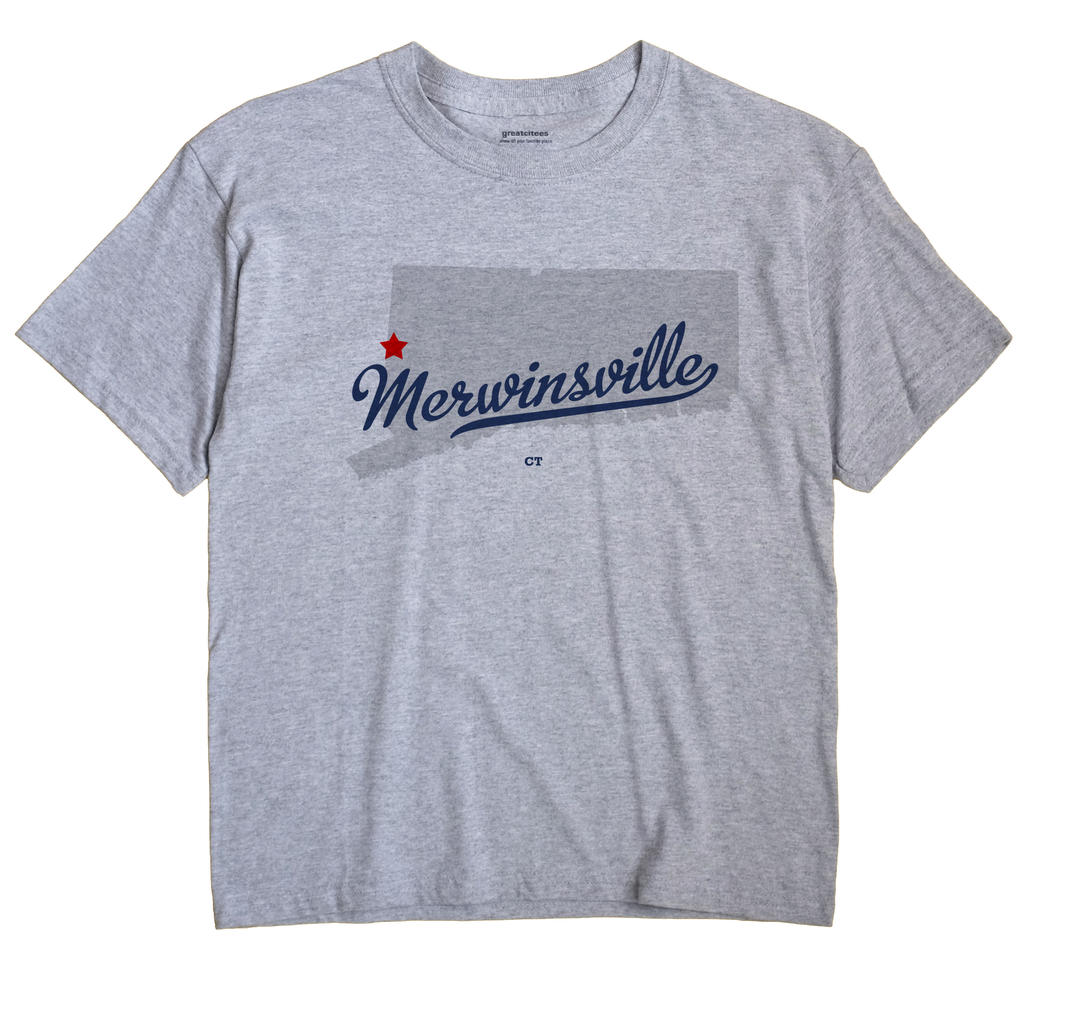 Merwinsville, Connecticut CT Souvenir Shirt