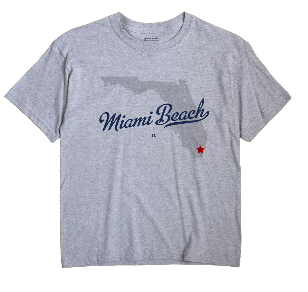 Miami Beach, Florida FL Souvenir Shirt