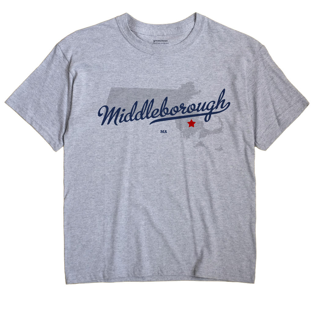 Middleborough, Massachusetts MA Souvenir Shirt