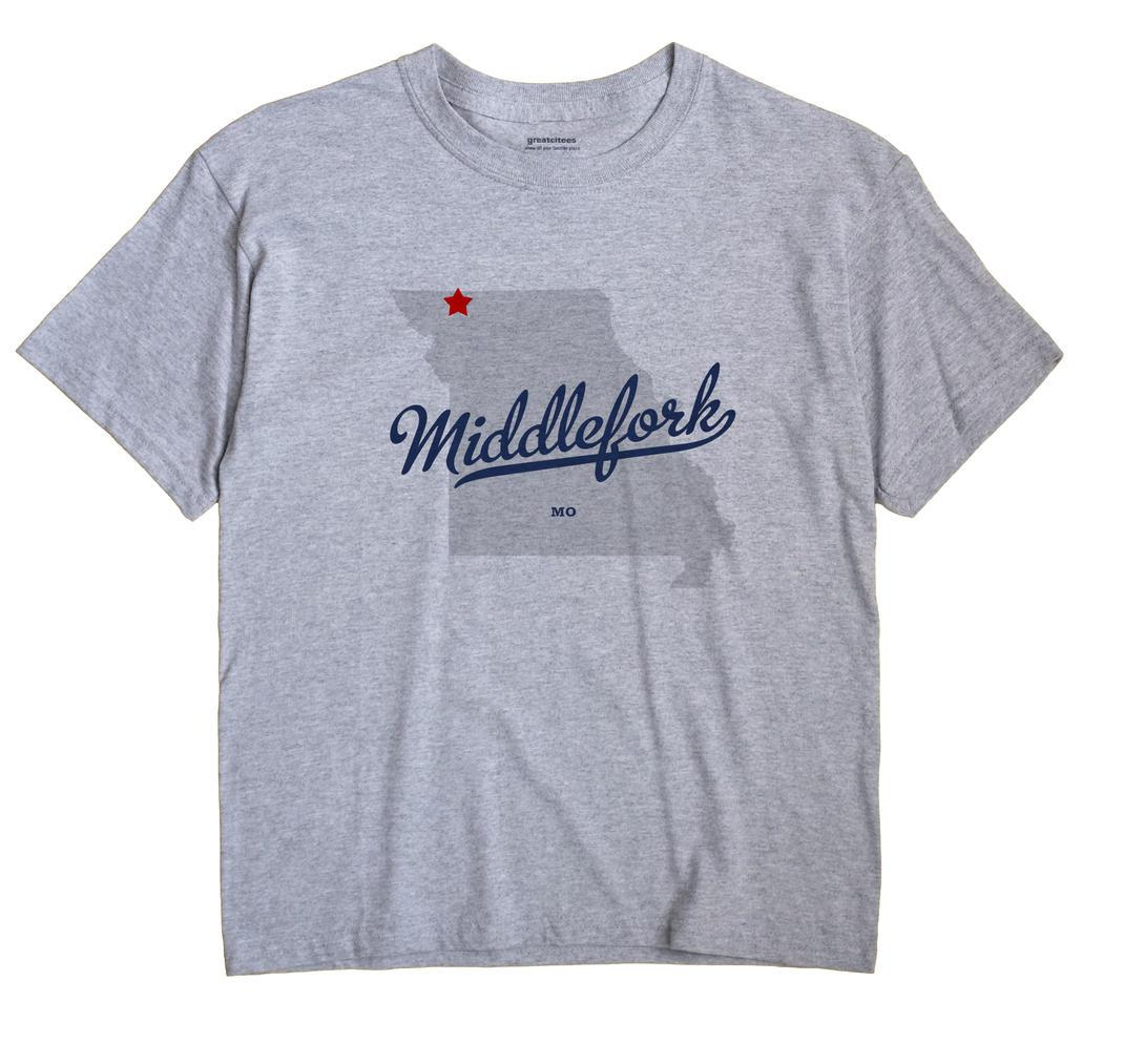 Middlefork, Missouri MO Souvenir Shirt