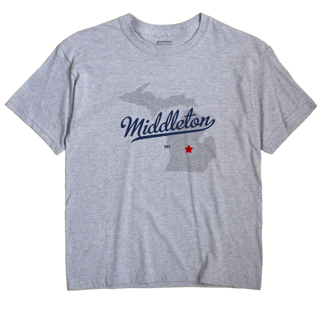 Middleton, Michigan MI Souvenir Shirt