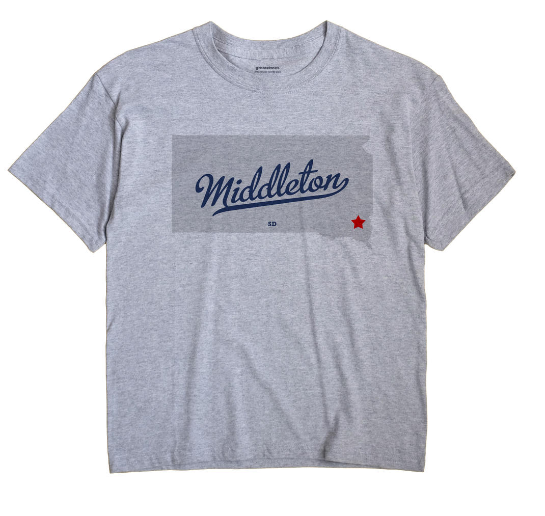 Middleton, South Dakota SD Souvenir Shirt