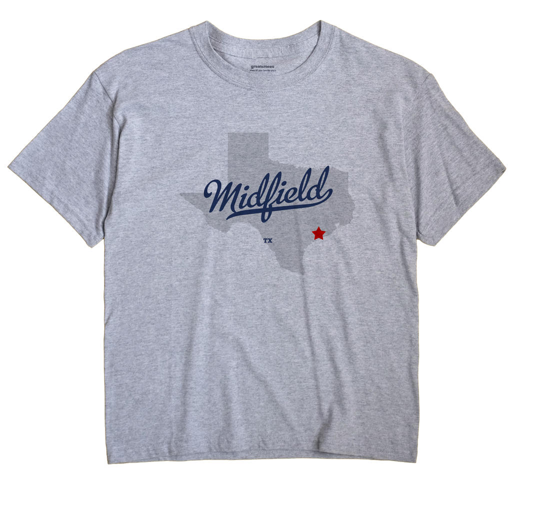 Midfield, Texas TX Souvenir Shirt