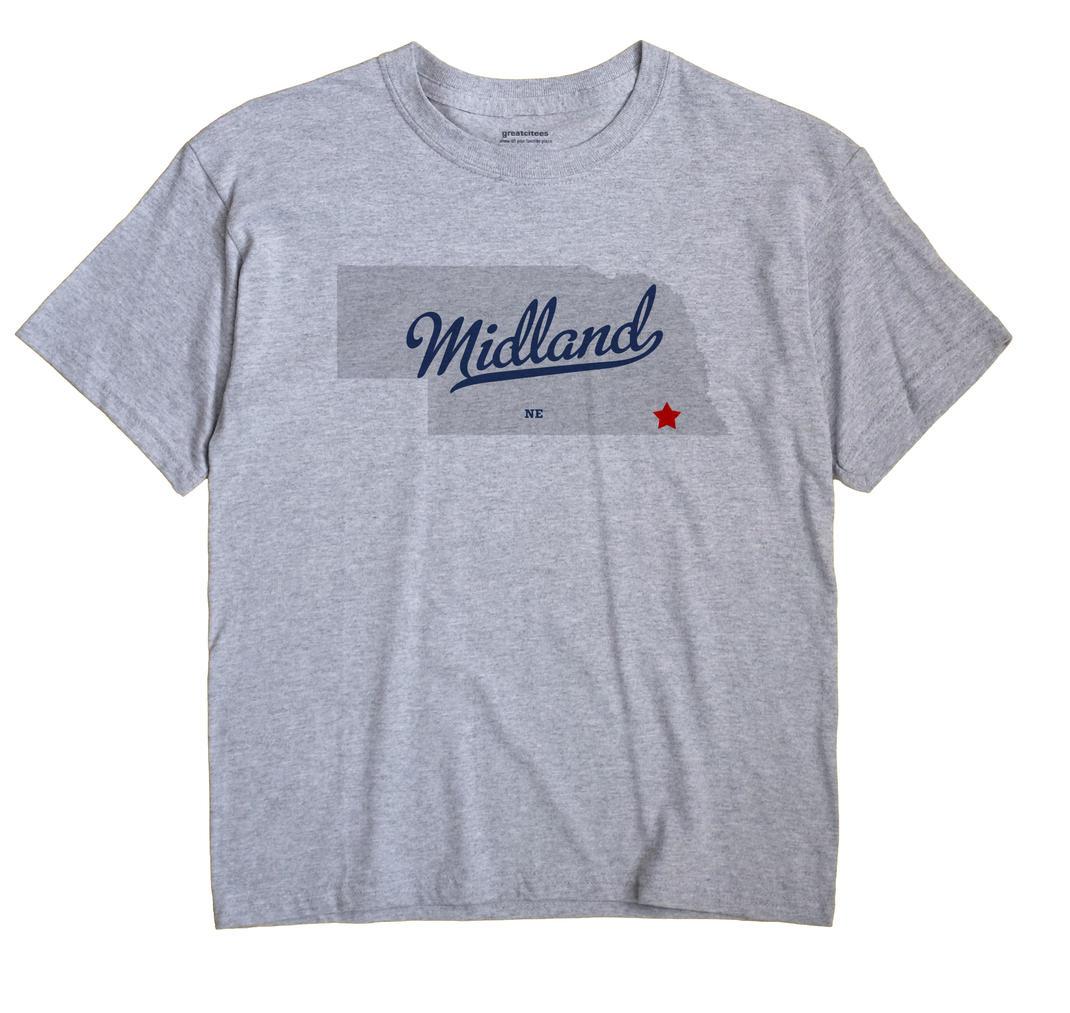 Midland, Gage County, Nebraska NE Souvenir Shirt