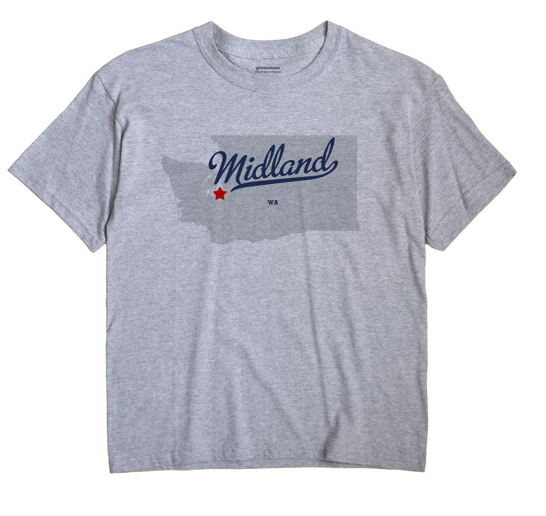 Midland, Washington WA Souvenir Shirt