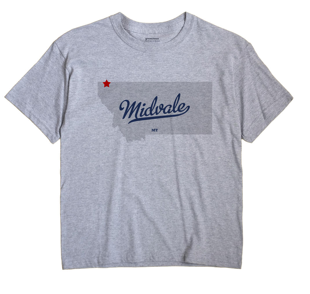 Midvale, Montana MT Souvenir Shirt