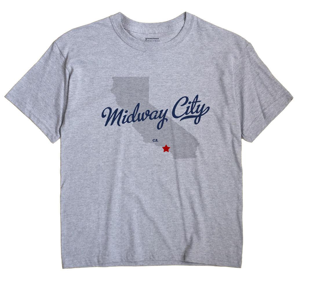 Midway City, California CA Souvenir Shirt
