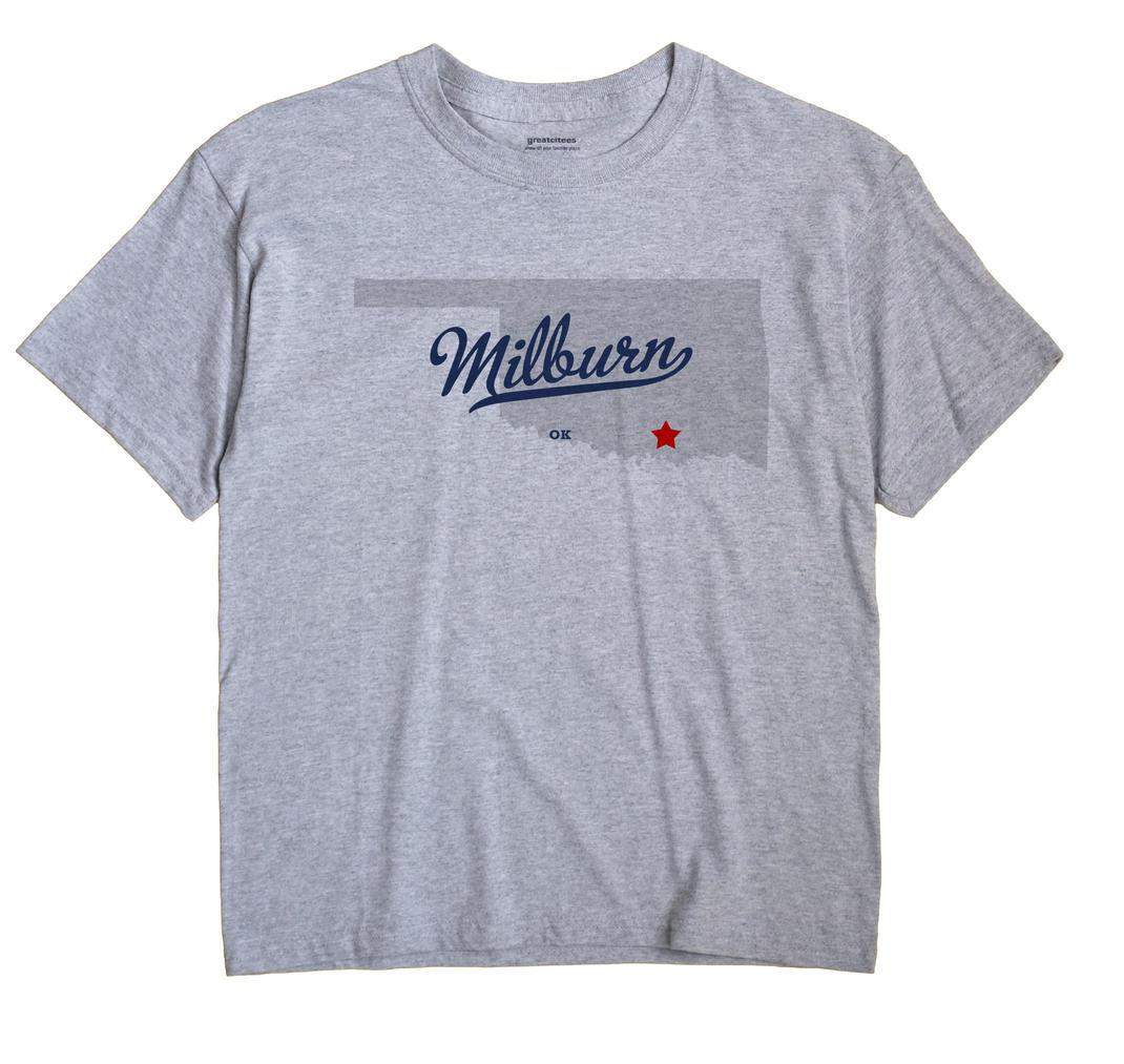 Milburn, Oklahoma OK Souvenir Shirt