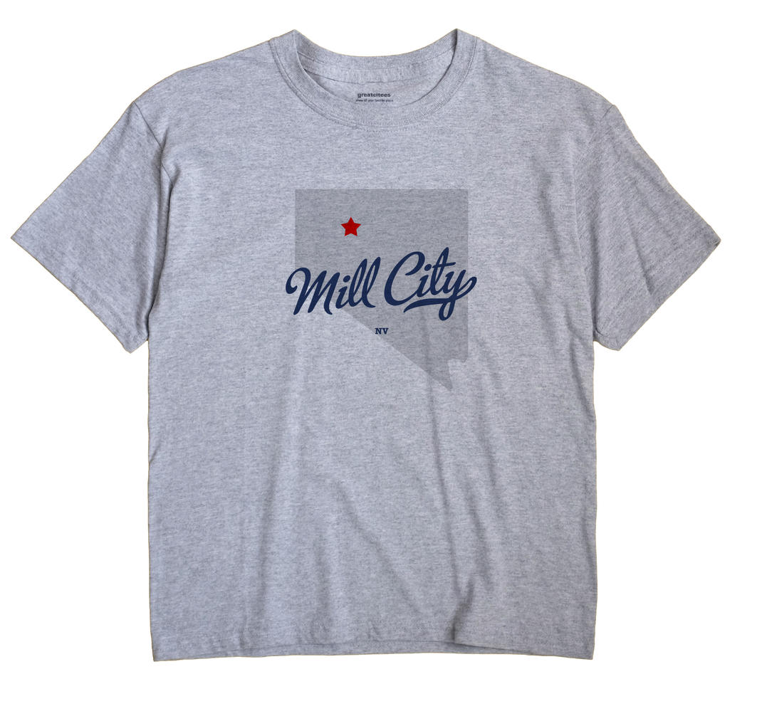 Mill City, Nevada NV Souvenir Shirt