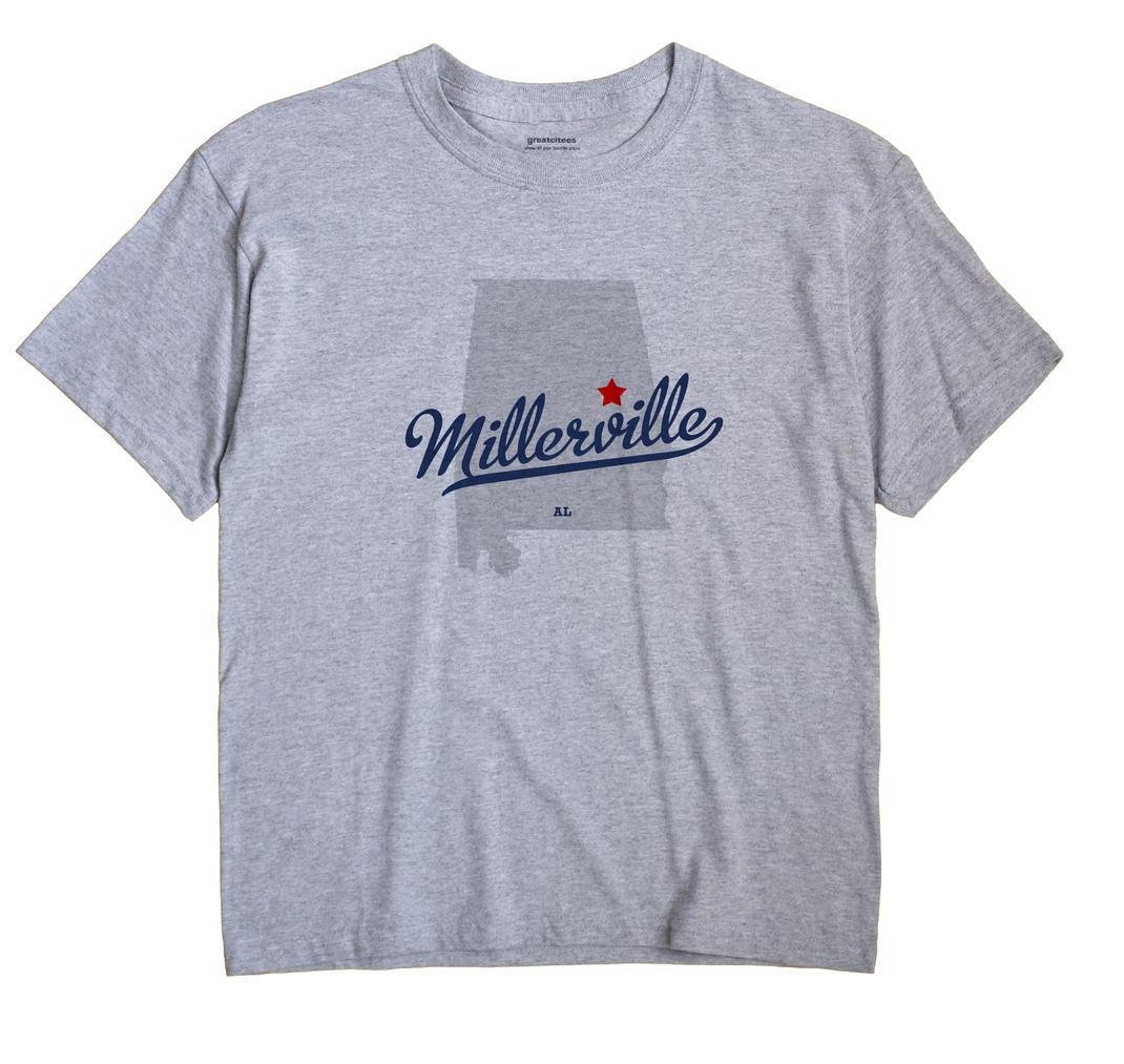 Millerville, Clay County, Alabama AL Souvenir Shirt