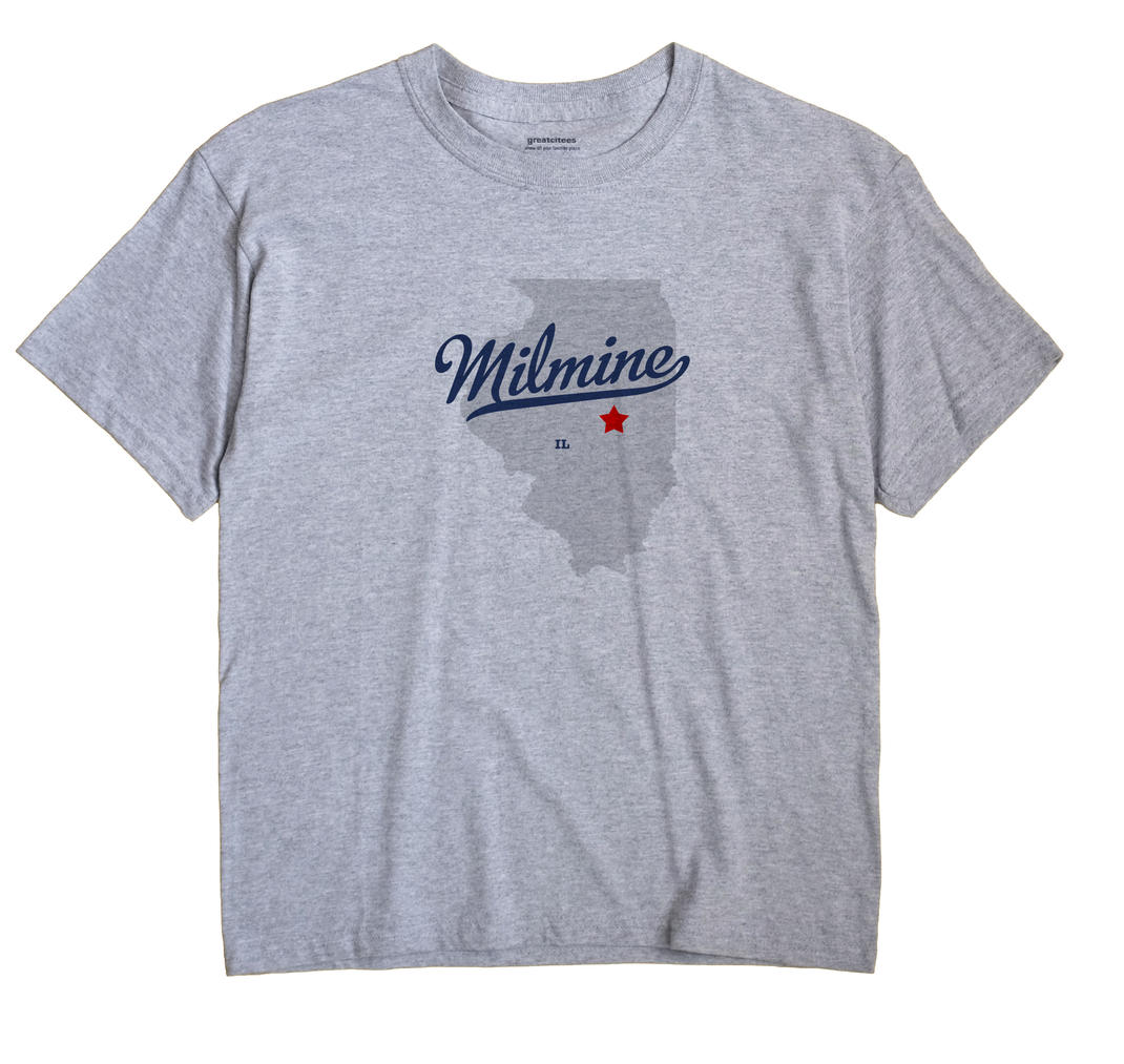 Milmine, Illinois IL Souvenir Shirt