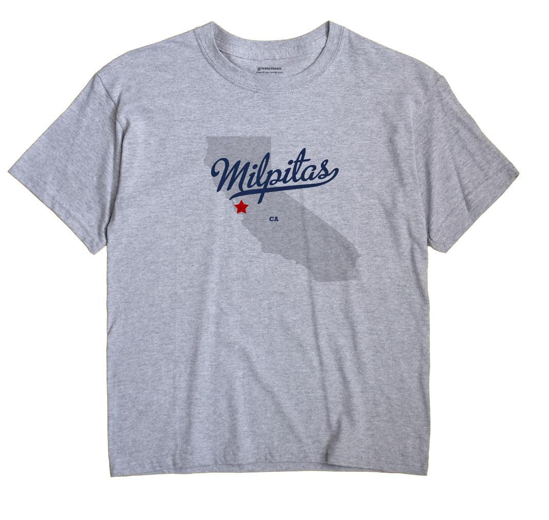 Milpitas, California CA Souvenir Shirt
