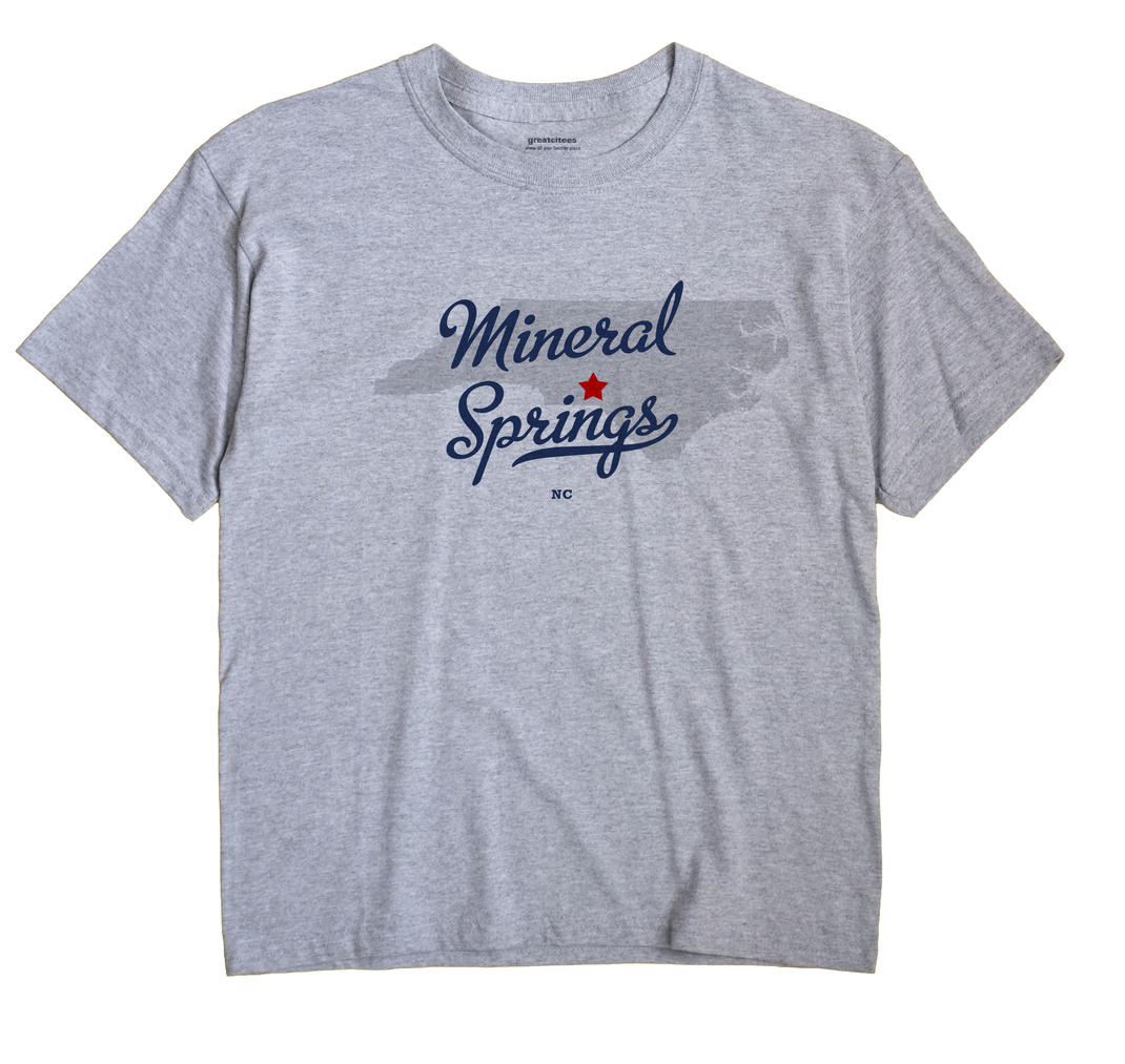 Mineral Springs, Richmond County, North Carolina NC Souvenir Shirt