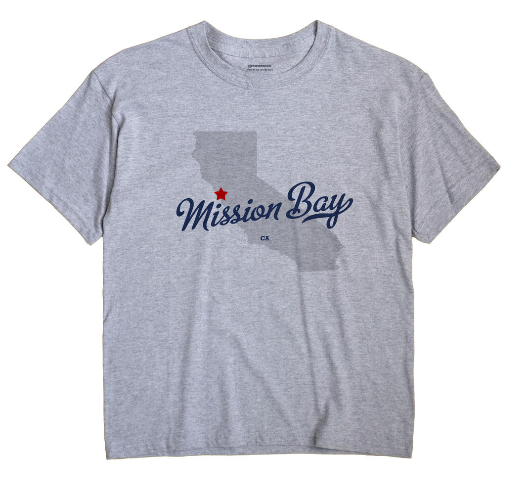Mission Bay, California CA Souvenir Shirt