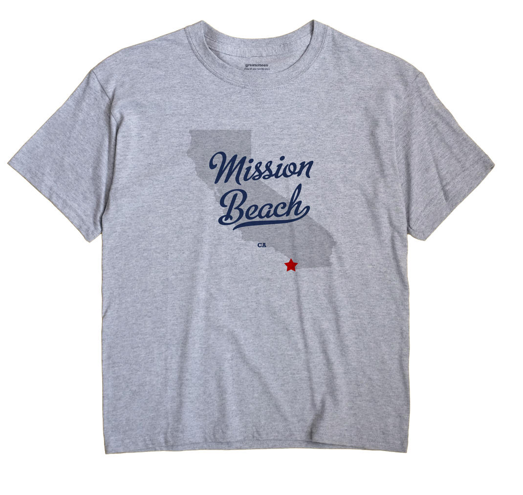 Mission Beach, California CA Souvenir Shirt