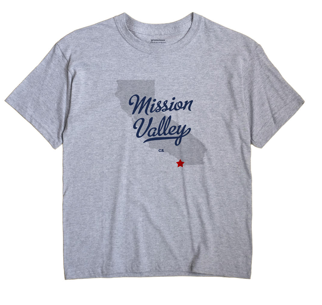 Mission Valley, California CA Souvenir Shirt