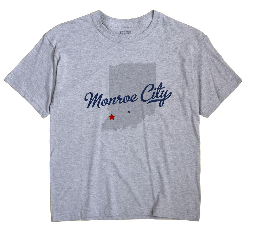 Monroe City, Indiana IN Souvenir Shirt