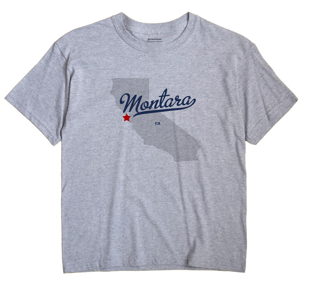 Montara, California CA Souvenir Shirt