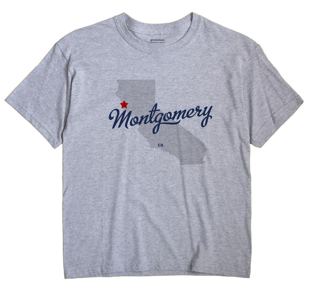 Montgomery, California CA Souvenir Shirt