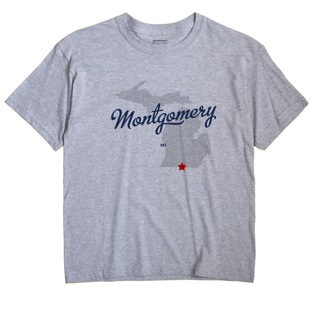 Montgomery, Michigan MI Souvenir Shirt