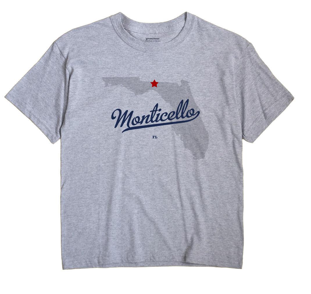 Monticello, Florida FL Souvenir Shirt